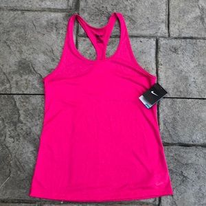 NWT Nike hot pink M Dri-Fit tank top.